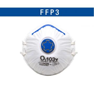 BLS RESPIRATORE 103V FFP3NRD  C/VALVOLA  COD.8006182