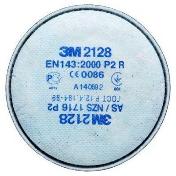 3M FILTRO GAS/VAPORI/POLVERI 2128 CLASSE P2 SERIE 2000