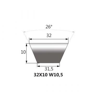 MEGADYNE CINGHIA VARISECT W 31,5P 1000