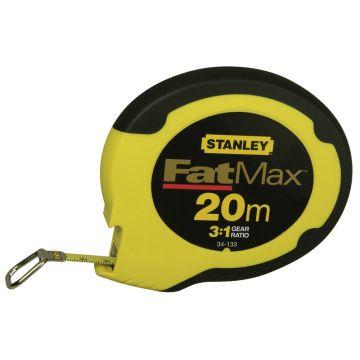 STANLEY ROTELLA NASTRO ACCIAIO MT 20 FAT MAX AVVOLGIMENTO RAPIDO