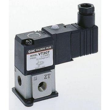 "SMC E.VALVOLA EVT317-BD-02F-Q NA/NC 3/2 24VAC D.1/4"""