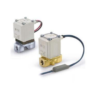 """SMC VX212HGKXB E.VALV. 24VDC N.C ATT.1/8"""" 2VIE"""