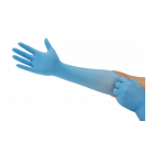 ANSELL GUANTO NITRILE MICROFLX 93-243 CONF.100 GUANTI COLORE BLU