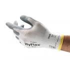ANSELL GUANTI HYFLEX 11-800 BIANCO-GRIGIO NYLON RIVEST.NITRILE