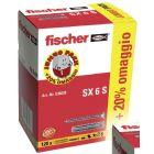 FISCHER FISCHER PROMO SX 6 S (100PZ+20PZ OMAGGIO)
