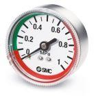 "SMC MANOMETRO G36-10-01-L 0-10 BAR / BICOLORE / 1/8"""